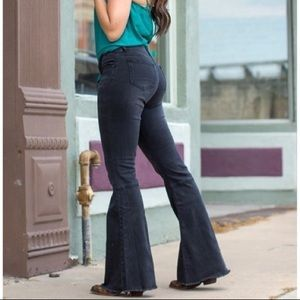 Lucky & Blessed L&B Mid Rise Flare Jeans